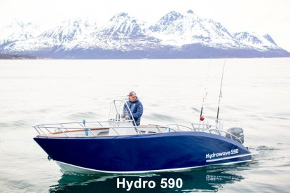 "Boot ""Hydro 590"" 19,5 Fuß/60PS/E-Lot/Kartenplotter"