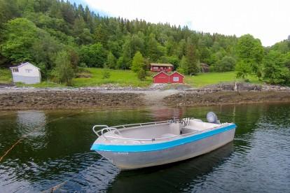 Angelboot Skarnsundet Hytte