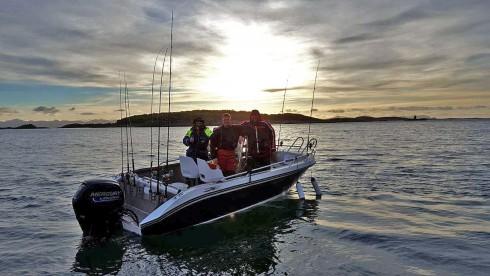 Groavær Angelboot 20 Fuss Boot 75 PS
