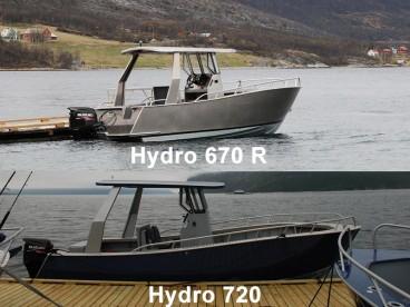 Angelboot Hydro 670R und 720