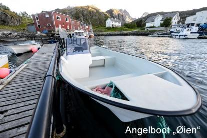 """Angelboot """"Øien"""", 20 Fuss / 70 PS / Echolot und Kartenplotter"""