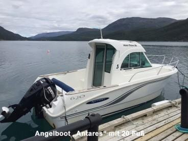Angelboot Antares