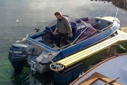 Kvitnesvagen Angelboot Buster