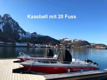 Angelboot Kaasbøll mit 20 Fuss Hemmingodden