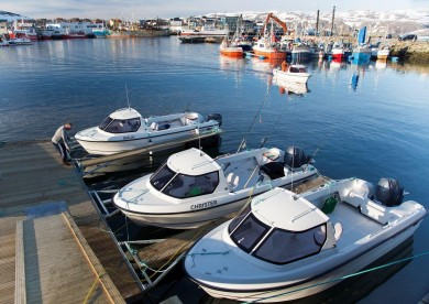Angelboote Båtsfjord