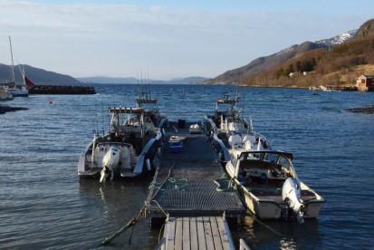 die Angelboote in Kastneshamn