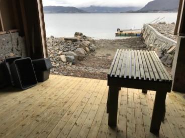 Fischverwertung in Strand Sjøfiske