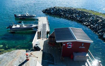 Angelboote Dyrøy Holiday