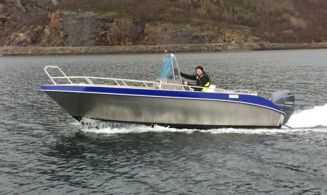Bergfjord Angelboot
