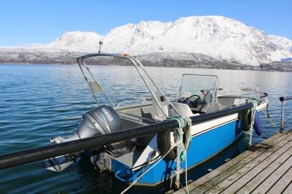 """Angelboot """"Kværnø"""" 19 Fuß/50 PS/E-Lot/Kartplotter"""