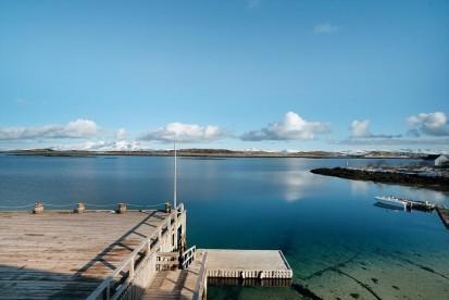 Havkanten Blick zum Fjord