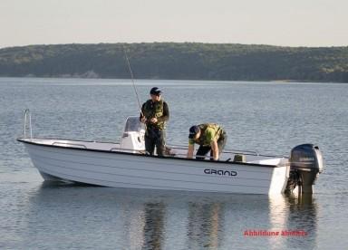 Hasvag Fiske 24 Boot 19 Fuss