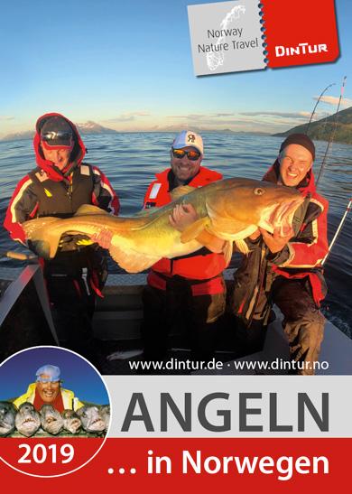 Angeln in Norwegen mit DinTur 2019