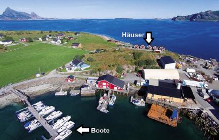 Kvarøy Lage Unterkünfte Boote