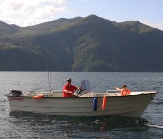 Ørneredet Angelboot Øien