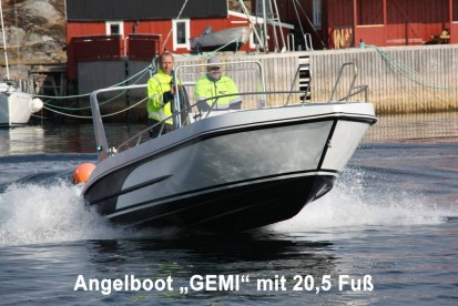 Angelboot Gemi 20,5 Fuß