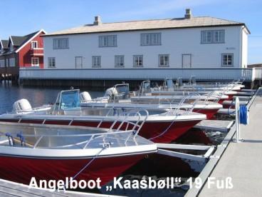 Angelboot Kaasbøll 19 Fuß