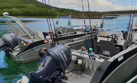 Angelboote Straumfjorden