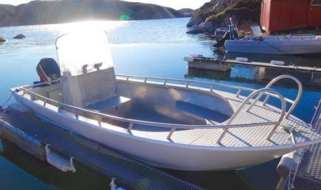 Angelboot 19 Fuss