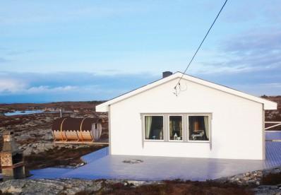 Haus mit Sauna und Grillecke