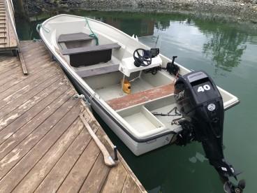 """Angelboot """"Rana"""" 18 Fuß/40PS inkl. Echolot/Kartenplotter"""