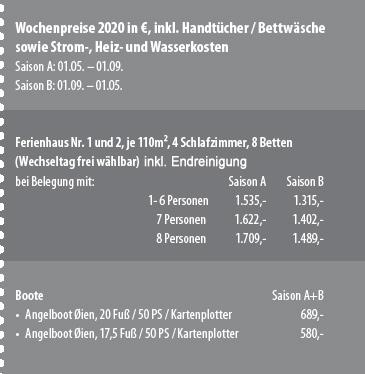 Preisbox Bremanger Sjøbuer