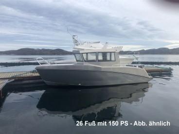 26 Fuß Kabineboot Kaasbøll