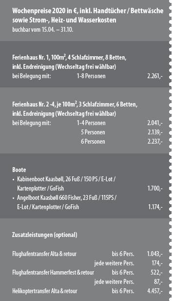 Preisbox Sørøya