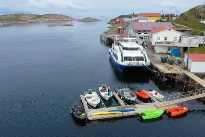 Øien Boote am Bootssteg